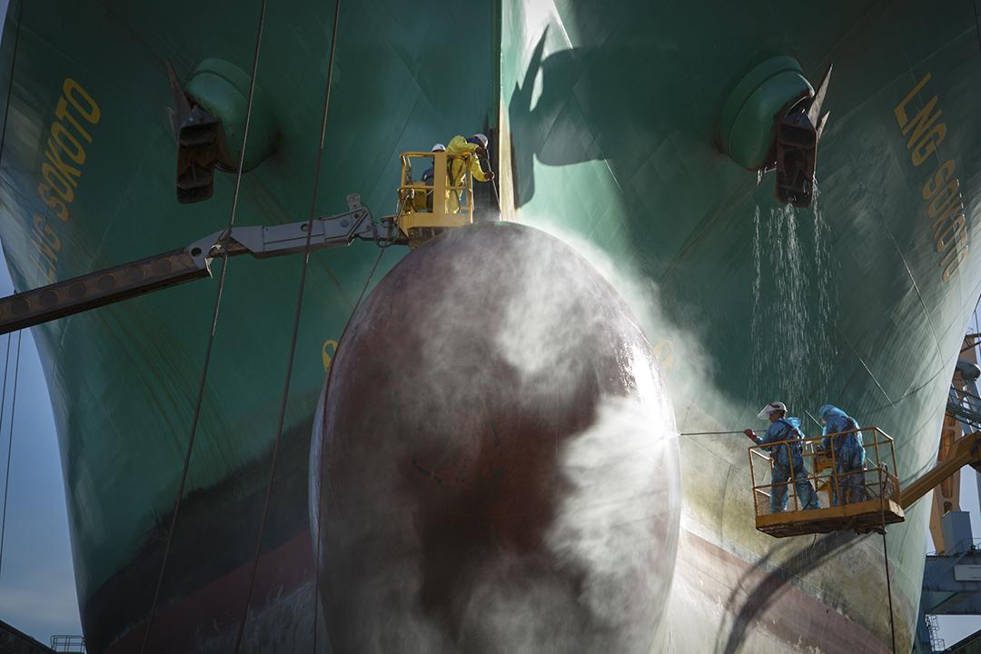 Refit LNG SOKOTO Dry Docked MAPITO Maritime