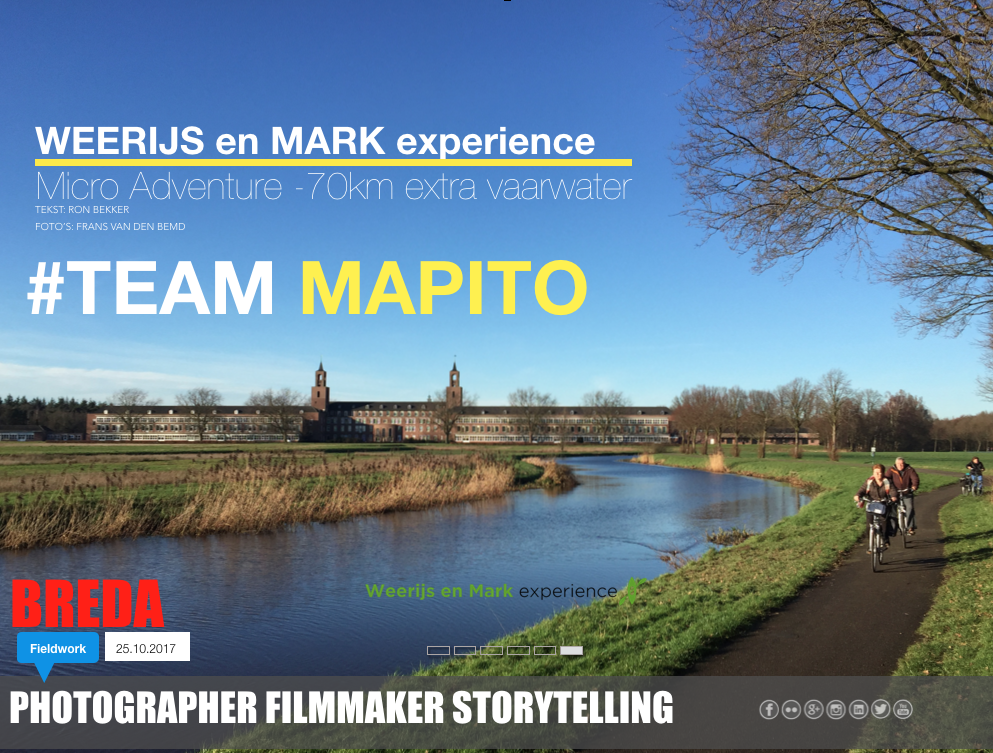 River de Mark experience TEAM MAPITO