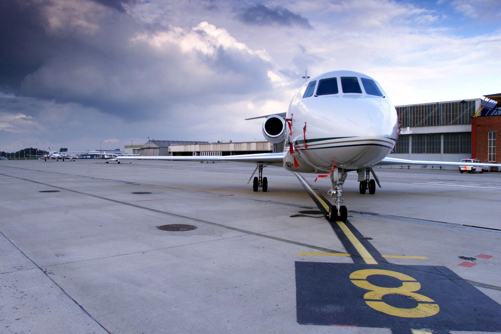 ✈ Private Jet Film Aerial Coordination