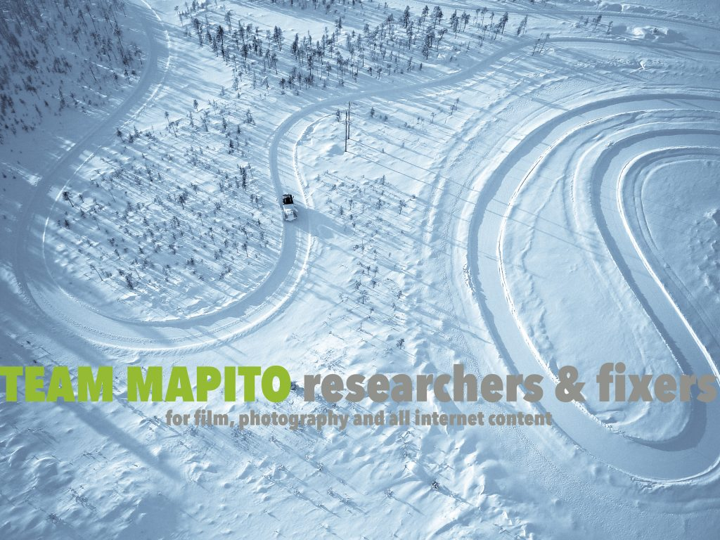 Winter Snow Tracks Film Locations