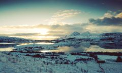 Fjord landscape winter MAPITO locatiebureau location agency