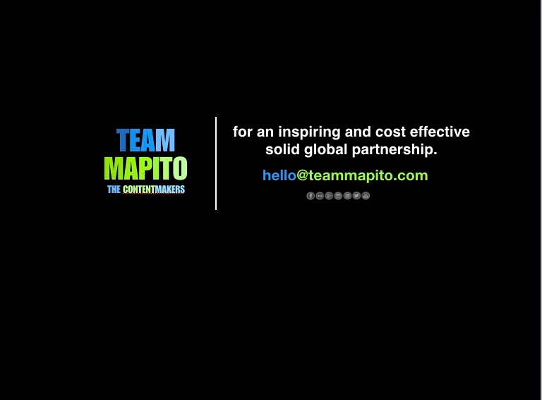TEAM MAPITO Locations film Production