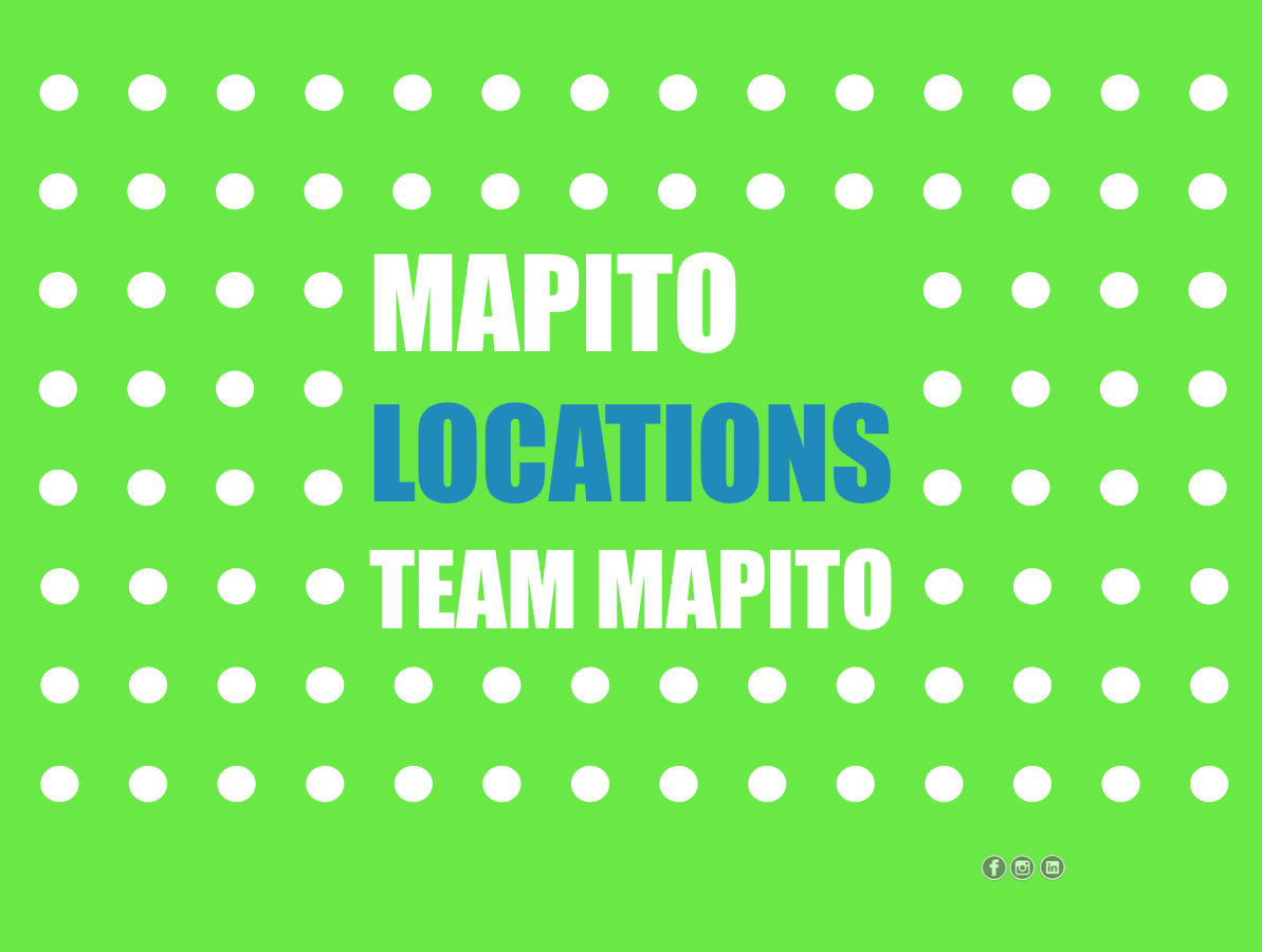 MAPITO Locations database TEAM MAPITO