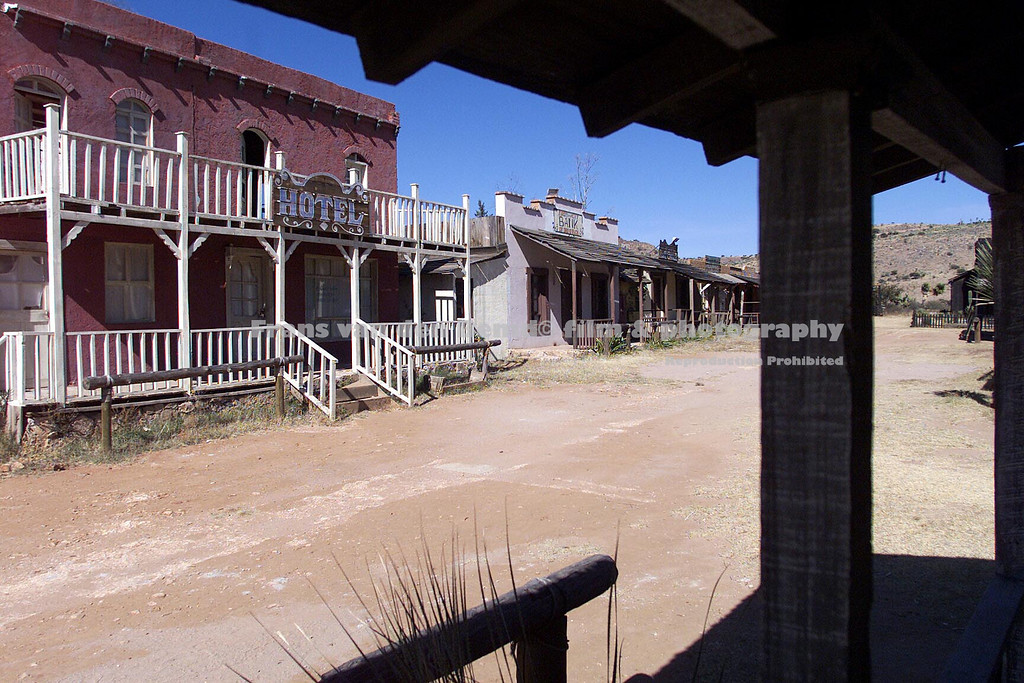 Wild west street houses locations