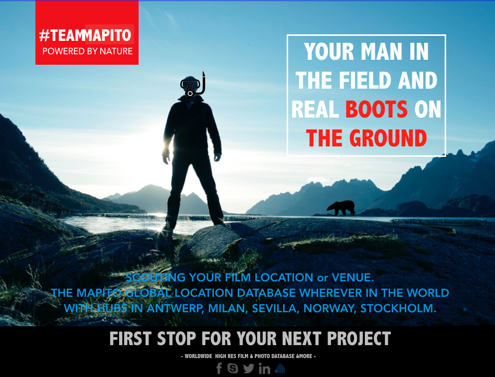 TEAM MAPITO man in the field